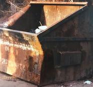 Millen dumpster
