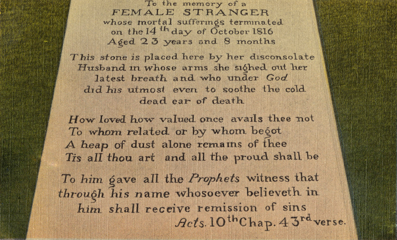 Female Stranger