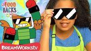 Hawkodile Cookie Shades Unikitty Presents Food Hacks For Kids