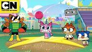 Unikitty - Kickball Match - Cartoon Network