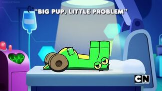 Click here to view more images from Big Pup, Little Problem.