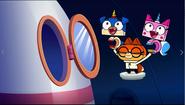Unikitty, puppycorn and Dr Fox