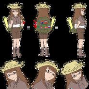 Tania character sheet (hat)