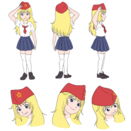 Rodina character sheet (hat)