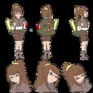 Tania character sheet (ponytail)