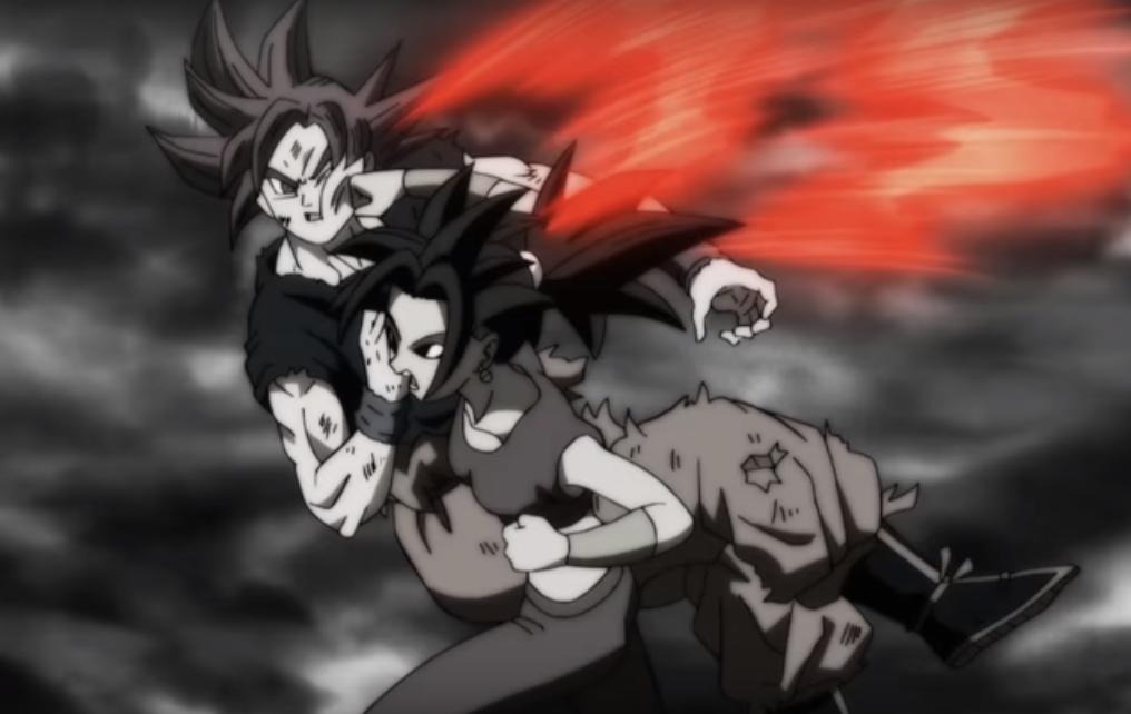 Goku Super Saiyan God Vs Kefla Universal Dragon Ball Wiki Fandom