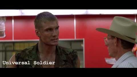 Dolph Lundgren( Universal Soldier)