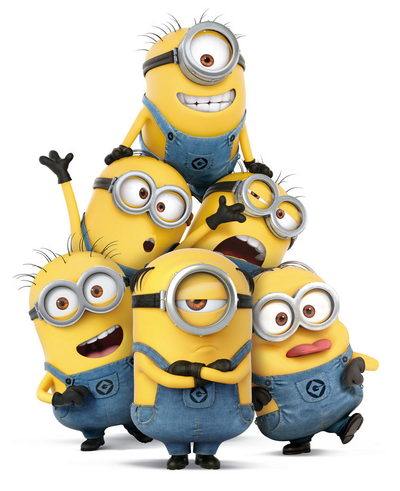 Mel and minions despicable me 3.png