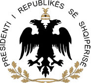 Seal of the President of Albania
