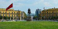 Skanderbeg square tirana 2016