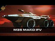 M35 Mako Infantry Fighting Vehicle - Mass Effect