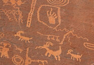 Valley of Fire petroglyphs, Nevada