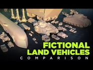 🚚 FICTIONAL Land VEHICLES - 3D Real Scale 🚗