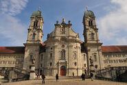 Kloster Einsiedeln Frontansicht