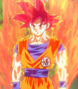 Super Saiyan God Son Goku