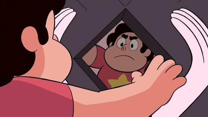 Steven se pone serio