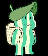 MelonSteven Leaf Hat n Basket 120516WD.png