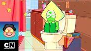 …Peridot se encierra en el baño - Steven Universe - Cartoon Network