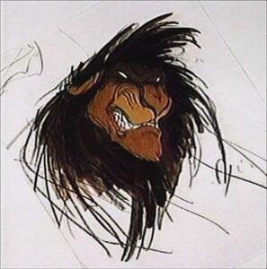 Scar Concept Art - Scar as a Rouge Lion