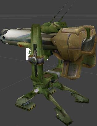 Rocket Turret (U2)