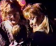 Barbara and charlene reunited