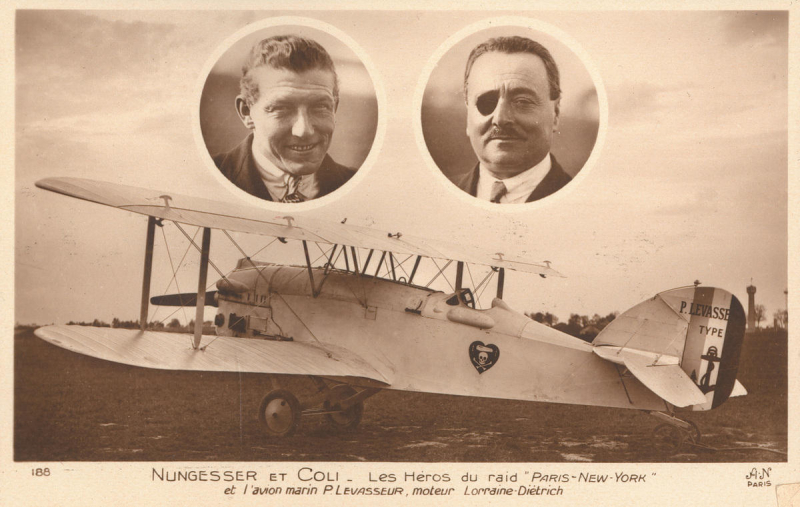 Charles Nungesser and Francois Coli
