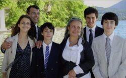 Dupont de ligonnes family.JPG