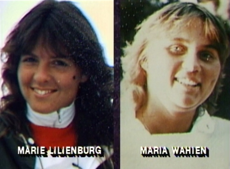 Marie Lilienberg and Maria Wahlén