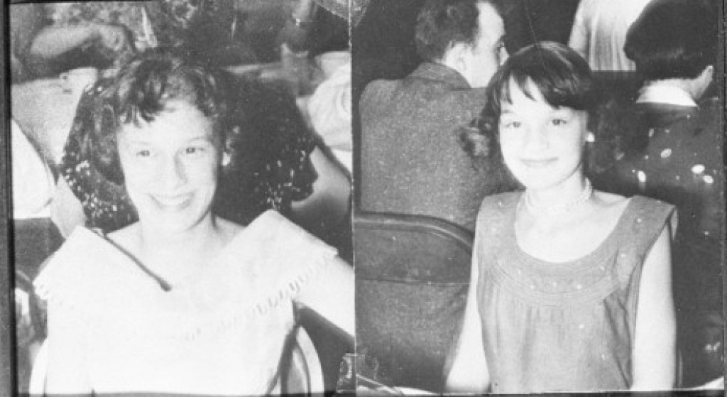 Barbara and Patricia Grimes