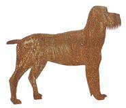 Hund Metallfigur