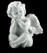 Engel-steinstatue-grabmal
