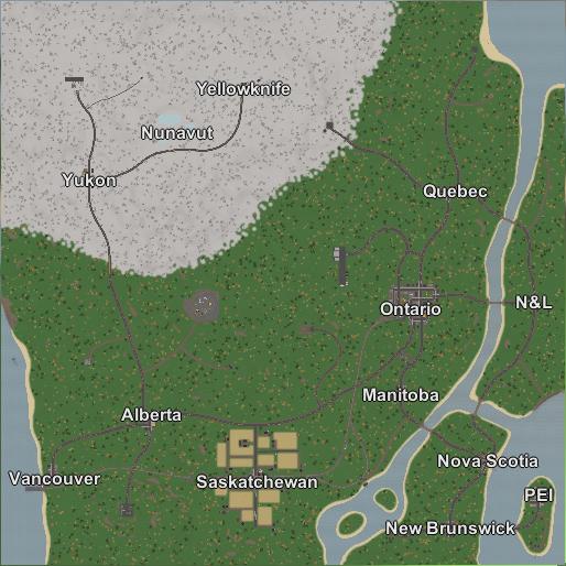 Canada Map For Unturned Canada | Unturned Bunker Wiki | Fandom