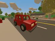 Red Sedan at Montague
