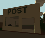 Post front