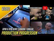 Upin & Ipin - Keris Siamang Tunggal (Production Progression)