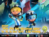 Upin, Ipin dan Ultraman Ribut