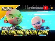 Episod Baru Upin & Ipin Musim 14 - Neo Santara - Demam Karat