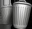 Fine waste bins
