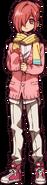 Mitsuba's anime design