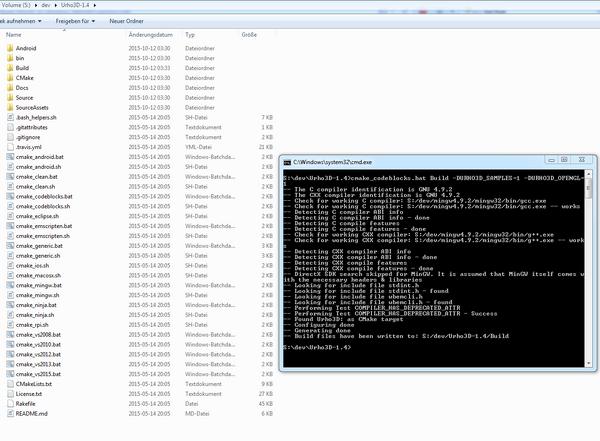 Urho 1.4 build.PNG