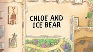 Chloe and Ice Bear