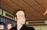 Asuka's Papa smiling