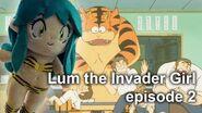 Lum the Invader Girl, episode 2, BBC dub of Urusei Yatsura うる星やつら