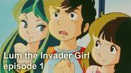 Lum the Invader Girl, episode 1, BBC dub of Urusei Yatsura うる星やつら