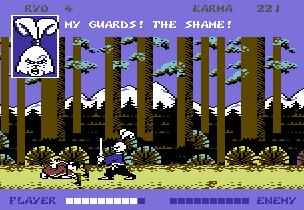 Samurai Warrior C64 gameplay 1.png