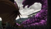 Episode 1 - Tora noticing the Yokai getting bigger