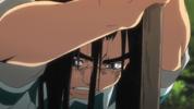 Episode 1 - Ushio's long hair falling off