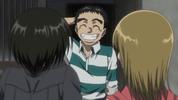 Episode 1 - Ushio smiling because he forgot
