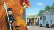 Episode 2 - Ushio asking Tora to give him info