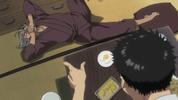 Episode 1 - Shigure reeling in pain